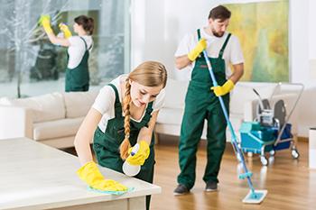 почистване след преместване